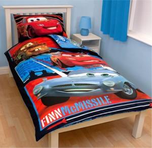 Idée cadeau : une housse de couette Cars pour votre garçon