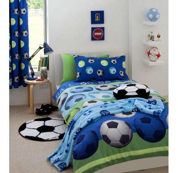 parure-de-lit-football-bleue